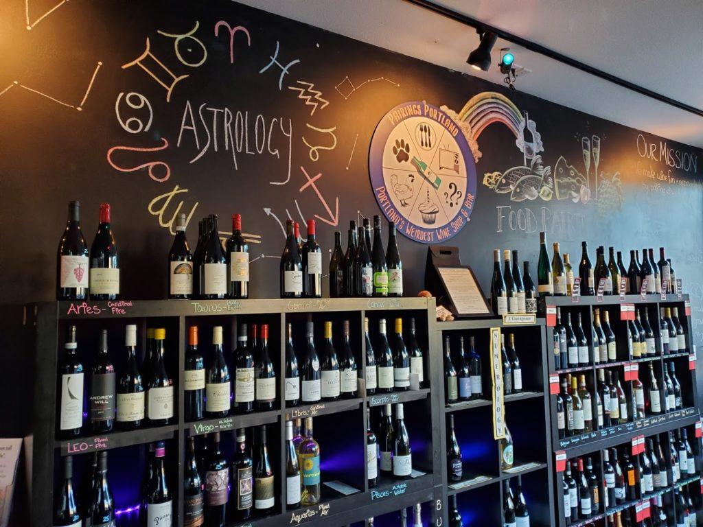 Weirdest Wine Shop in Portland - Pairings Portland